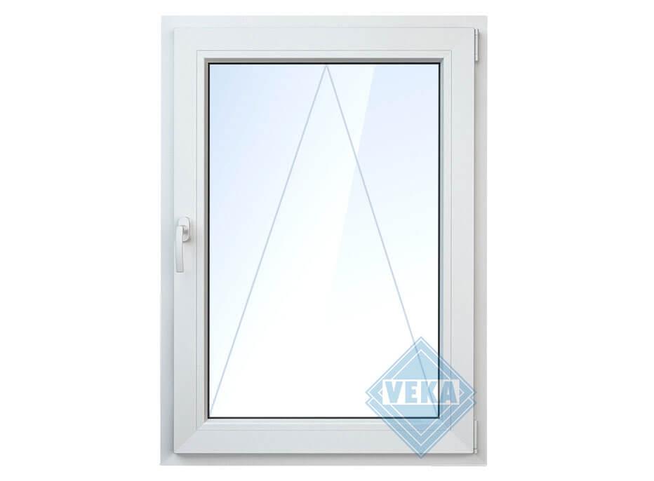 Одностворчатое откидное окно