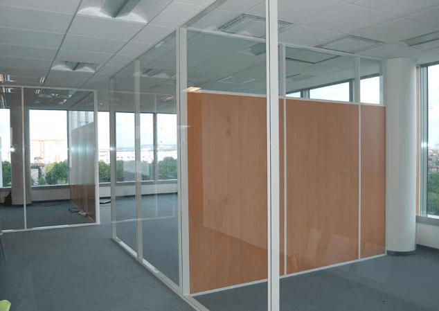 офисные перегородки в тороговом центре 3