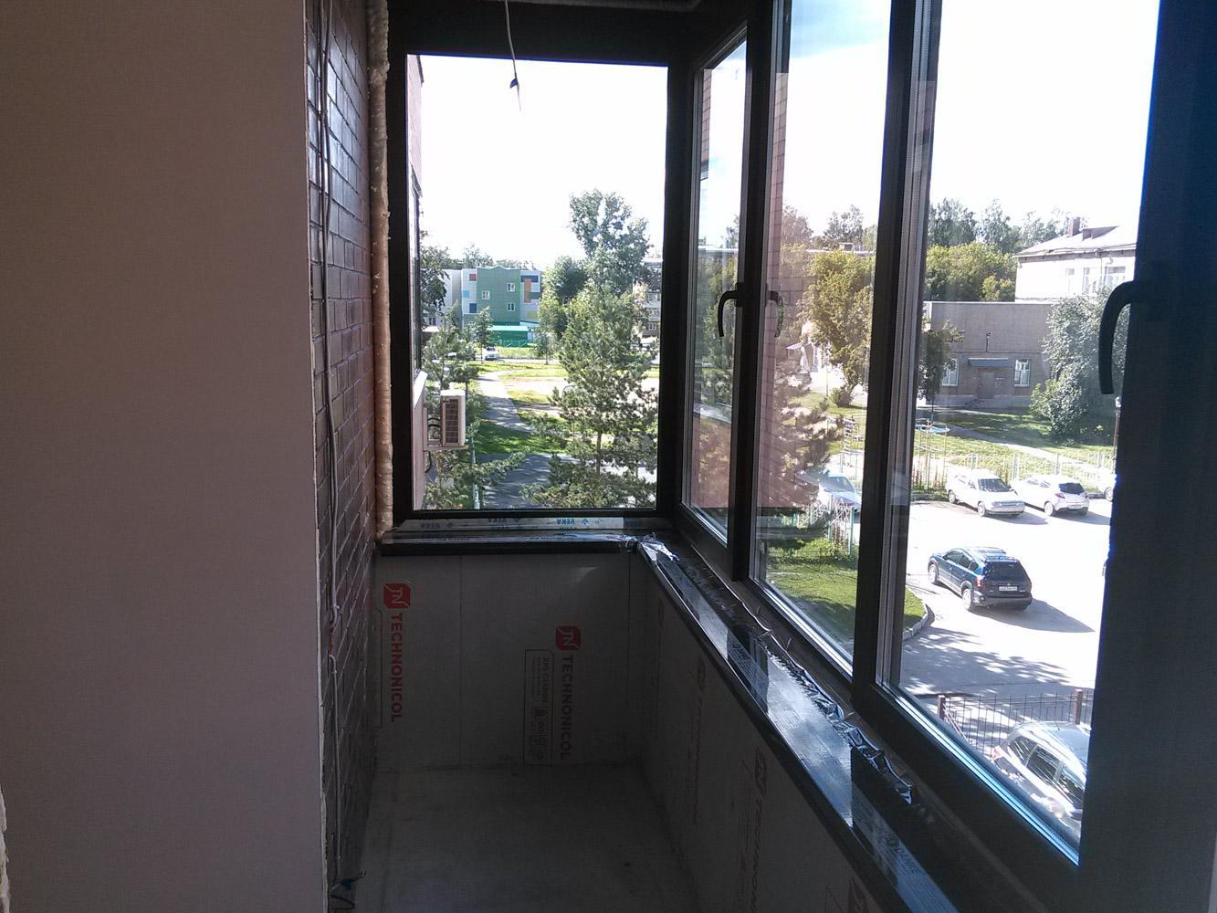 Утепление балкона - ход работы