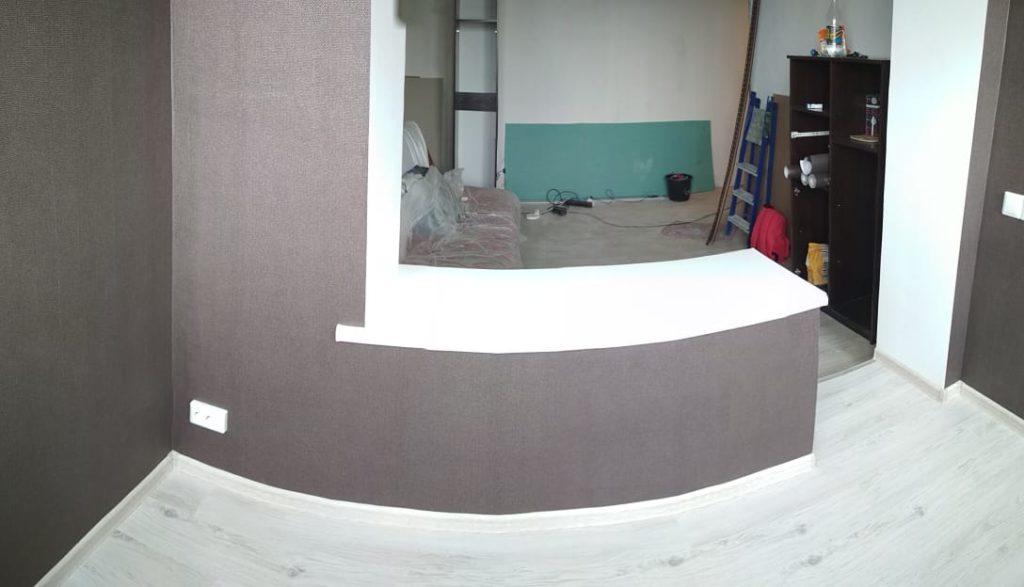 готовая отделка балкона